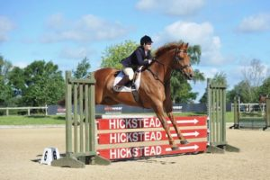 LVS Jackpot jumping at Hickstead Derby