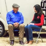 Sitting with Monty Roberts, the Man who listens to horses
