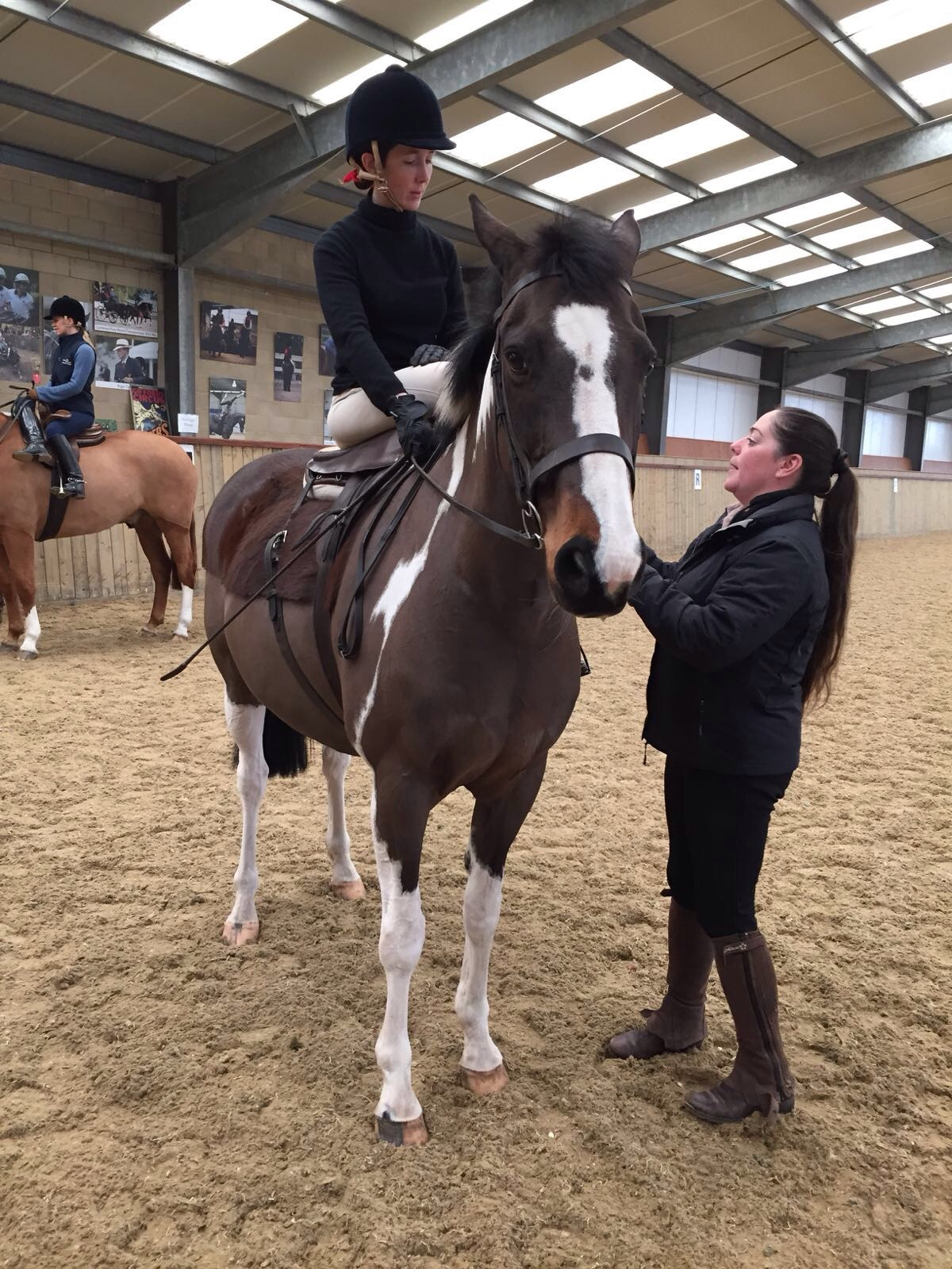 pie side saddle training