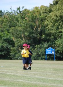 First sports day