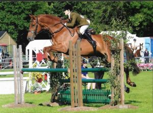 LVS Jackpot jumping at Kent County HOYS Worker