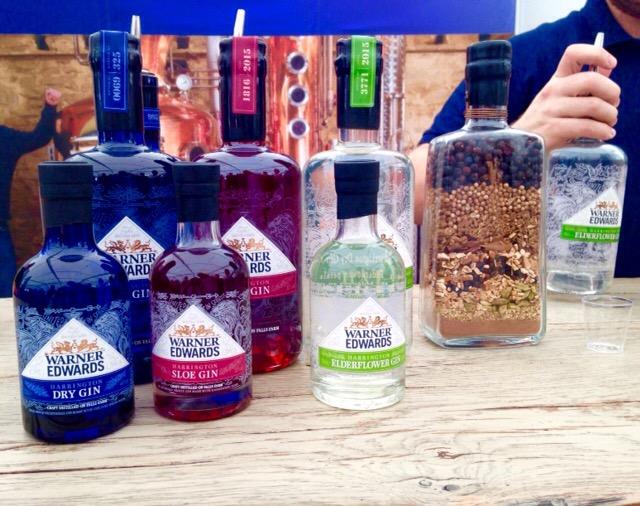 warner edwards, gin, british, produced
