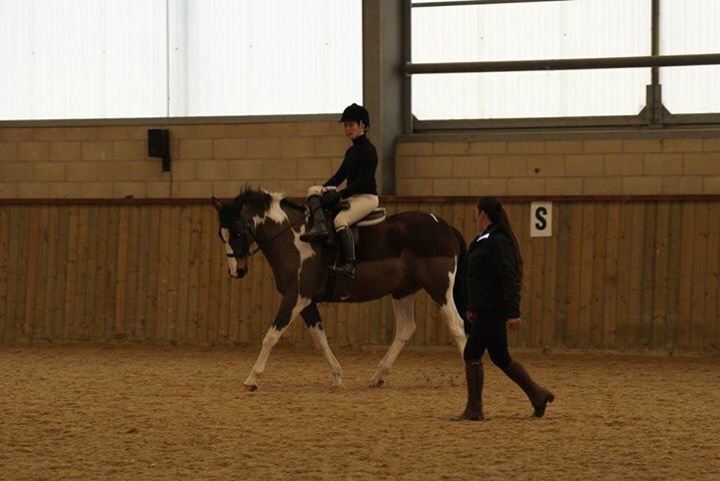 side saddle lesson