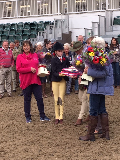 A thank you of flowers and cake to the team behind the Cherif Championships